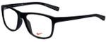 Nike Designer Reading Glasses Nike-7097-002 in Matte Black 54mm