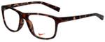 Nike Designer Reading Glasses Nike-7097-215 in Matte Tortoise 54mm