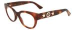 Gucci Designer Eyeglasses GG0209O-002 in Havana 48mm :: Custom Left & Right Lens
