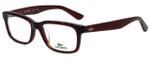 Lacoste Designer Eyeglasses L2672-615 in Red Havana 50mm :: Progressive