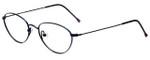 Dakota Smith Designer Eyeglasses Hula Hoop DS1035-0034 in Purple 50mm :: Rx Single Vision