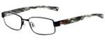 Nike Designer Eyeglasses Nike-5571-020 in Satin Black 48mm :: Custom Left & Right Lens