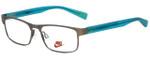 Nike Designer Eyeglasses Nike-5574-070 in Gunmetal Volt 47mm :: Custom Left & Right Lens