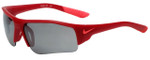 Nike Kids Designer Sunglasses Skylon Ace XV Jr. EV0900 in Matte Gym Red
