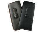 Mens Soft Slip-In Case w/ Metal Clip Medium Sized