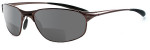 Bolle Aftermath Espresso Polarized Bi-Focal Reading Sunglasses