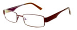 Calabria Viv 313 Designer Reading Glasses in Dark Brown