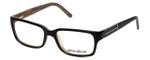 Eddie Bauer 8302 Designer Reading Glasses in Black-Marble
