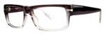 Calabria Soho 109 Grey Gradient Designer Reading Glasses :: Rx Single Vision