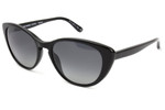 Oliver Peoples Sunglasses Haley in Black & Polarized Grey Lens