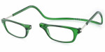 Clic Magnetic Eyewear Regular Fit Original Style in Emerald :: Custom Left & Right Lens