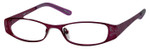 Seventeen Designer Reading Glasses 5335 in Purple :: Custom Left & Right Lens