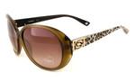 Bebe Eyewear 7055 Designer Sunglasses in Brown