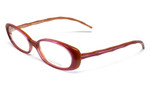 Lilly Pulitzer Designer Reading Glasses Meg in Pink Copper :: Rx Single Vision