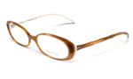 Lilly Pulitzer Designer Reading Glasses Meg in Woodcream :: Rx Single Vision