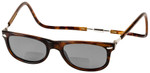 Clic Ashbury Wide Fit in Tortoise Polarized Bi-Focal Reading Sunglasses