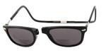 Clic Ashbury Wide Fit in Black Polarized Bi-Focal Reading Sunglasses