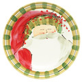Vietri Old St. Nick Dinner Plate 10.75 in. OSN_7800D