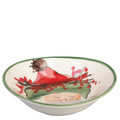 Vietri Old St. Nick Oval Bowl 8x7 in. OSN_7804B