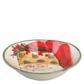 Vietri Old St. Nick Oval Bowl 8x7 in. OSN_7804C