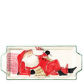Vietri Old St. Nick Handled Rectangular Platter 17x7 in. OSN_7830