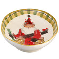 Vietri Old St. Nick Oval Serving Bowl 17.25x11.5 in. OSN-7821