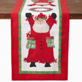 Vietri Old St. Nick Table Runner 108x16 in OSN-4594