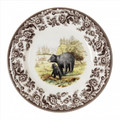 Spode Woodland Black Bear Dinner Plate 10.5 in.-HP