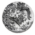 Royal Crown Derby Black-Aves-Platinum-Dinner-Plate-10-in BLAVP00100