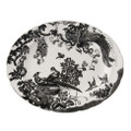 Royal Crown Derby Black-Aves-Platinum-Oval-Platter-13-in. BLAVP00109