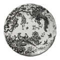 Royal Crown Derby Black-Aves-Platinum-Round-Chop-Dish BLAVP00166
