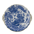Royal Crown Derby Blue-Aves-Eared-Cake-Plate-9-in AVEBB04132