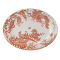 Royal Crown Derby Red-Aves-Oval-Platter-15-in. AVERE00108
