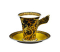 Versace Barocco After Dinner Cup and Saucer