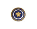 Versace Medusa Blue Bread & Butter Plate 7 in.