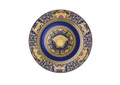 Versace Medusa Blue Service Plate 11.75 in.