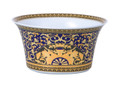 Versace Medusa Blue Open Vegetable Dish 7.75 in.