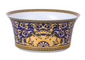 Versace Medusa Blue Open Vegetable Dish-9.75 in.