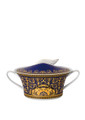 Versace Medusa Blue Covered Vegetable Bowl 54 oz