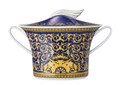 Versace Medusa Blue Soup Tureen 77 oz