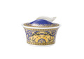 Versace Medusa Blue Sugar Bowl ,Covered