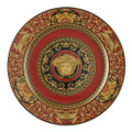 Versace Medusa Red Service Plate 11.75 in.