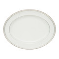 WATERFORD PADOVA OVAL PLATTER, 15.25 in. 130418