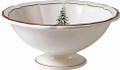 Gien Filets Noel Open Vegetable Bowl 11.75 in.