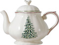 Gien Filets Noel Teapot