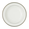 WATERFORD KILBARRY PLATINUM RIM SOUP PLATE, 9 in. 118265