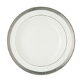WATERFORD NEWGRANGE PLATINUM RIM SOUP PLATE, 9 in. 119990
