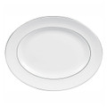 Vera Wang Wedgwood Blanc Sur Blanc Oval Platter 15.25 in 50108303002