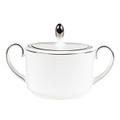 Vera Wang Wedgwood Blanc Sur Blanc Sugar Bowl 50108305614