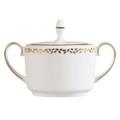 Vera Wang Wedgwood Gilded Leaf Sugar Bowl 5C101105614